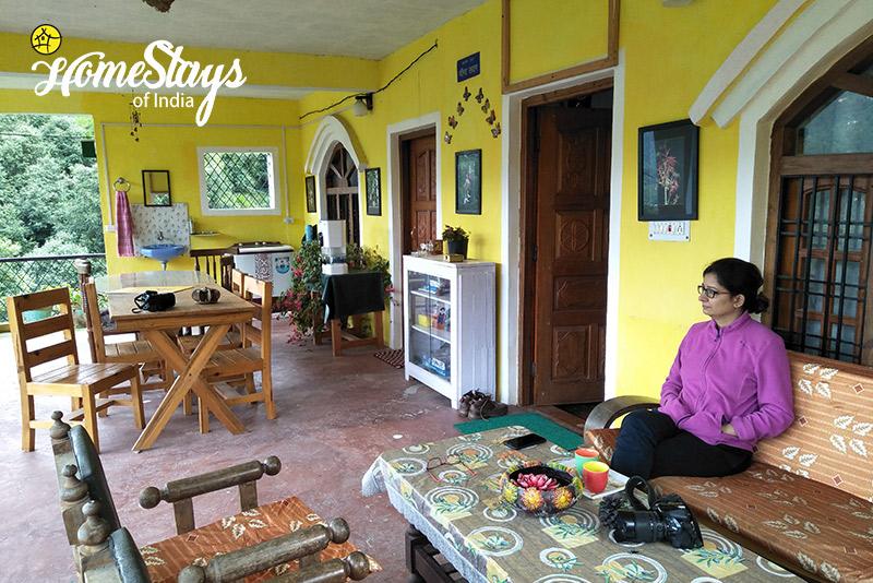 Balcony_Mukteshwar Homestay