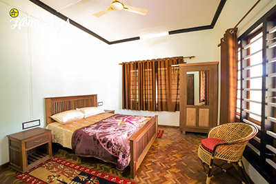 BedRoom2_Kalimalli Homestay-Rajakkadu