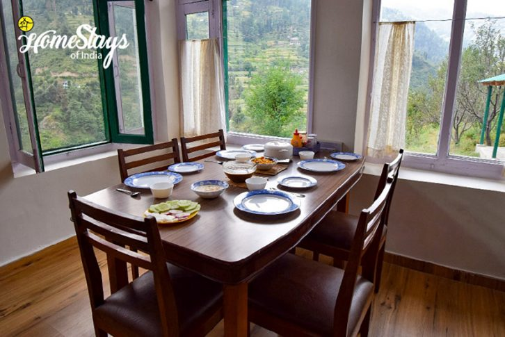 Dining_Bhandal-Homestay-Chamba