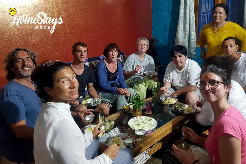 Dinner_Gangori Homestay, Uttarkashi