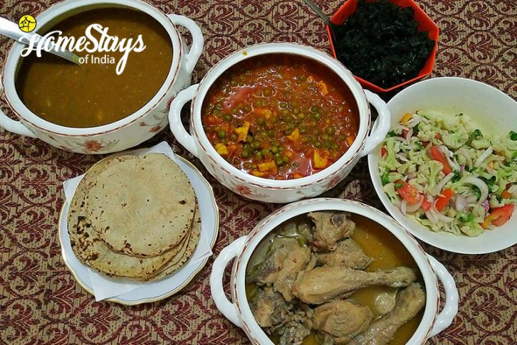 Dinner_Sunkiya-Homestay-Mukteshwar