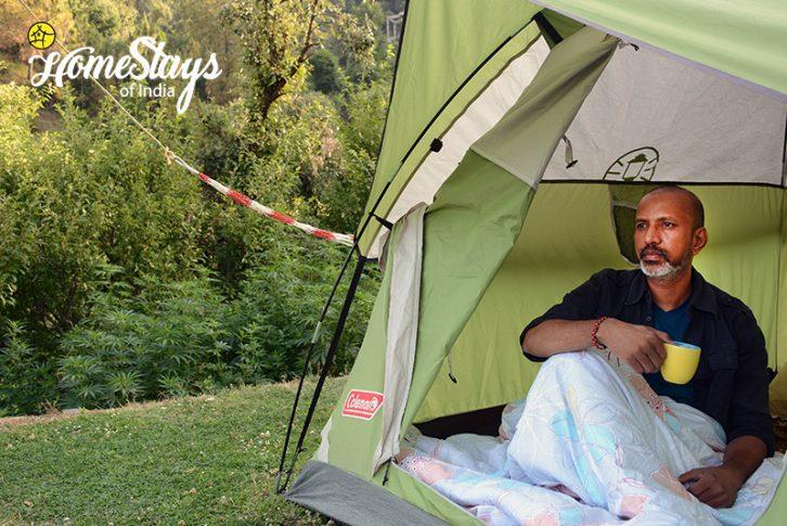 Tent_Sunkiya-Homestay-Mukteshwar