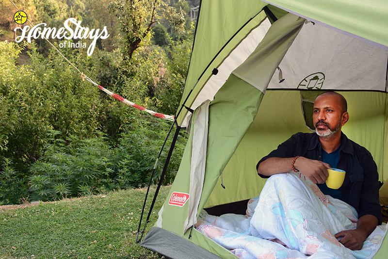Tent_Mukteshwar Homestay