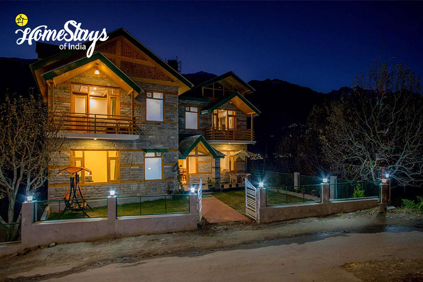 Night View-Shuru Homestay_Manali
