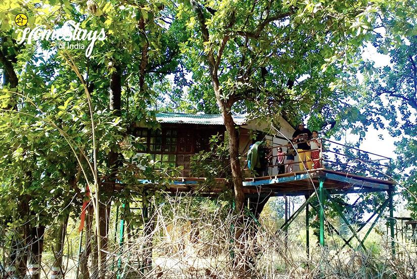 TreeHouse_Parsatola Ecostay-Kanha