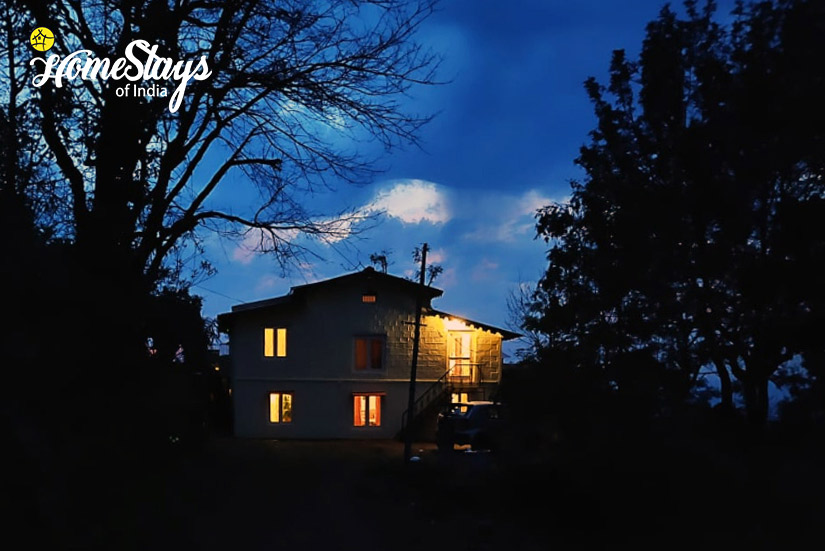 At Night-Sirori Homestay-Nainital-Uttarakhand
