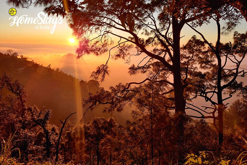 SunSet-Sirori Homestay-Nainital-Uttarakhand