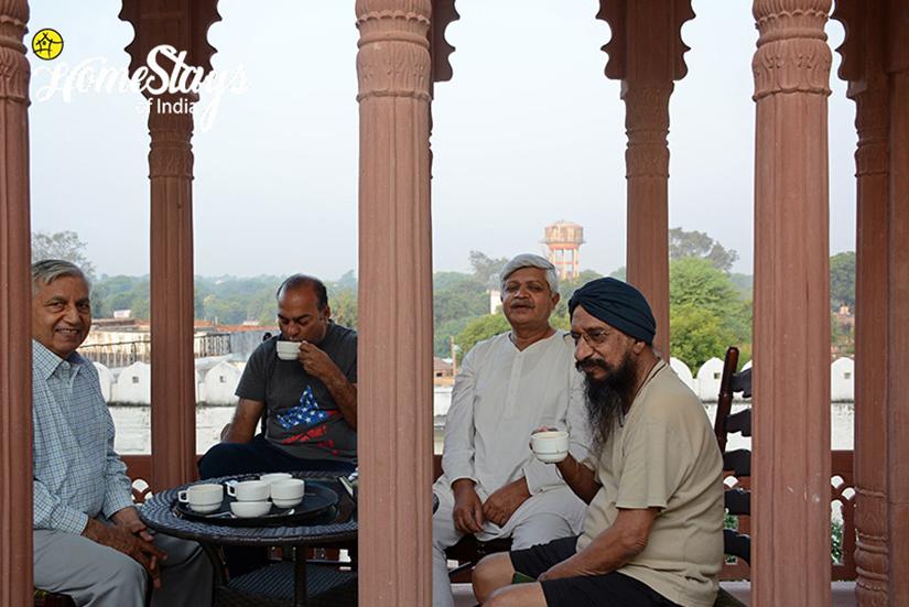 Morning Tea_Lotwara-Heritage-Homestay