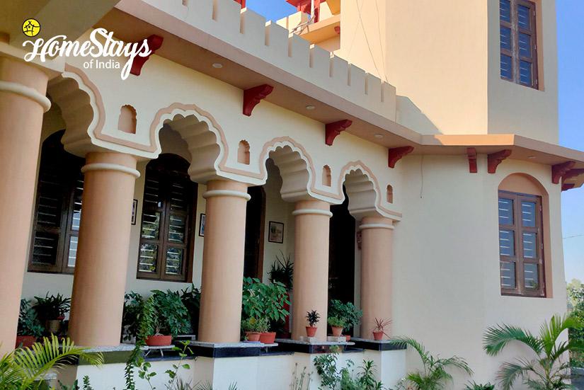 Exterior-Panchkula Heritage Homestay