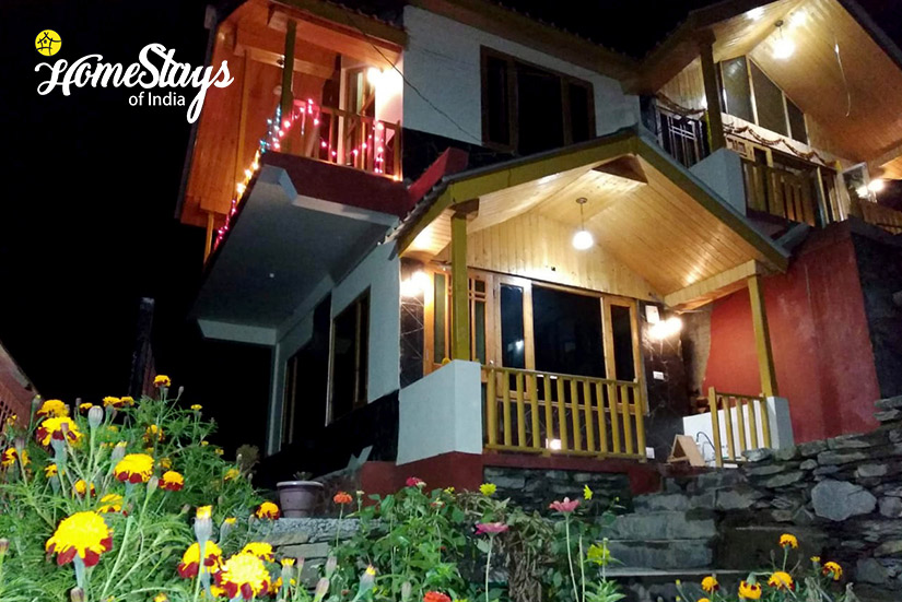 Night View-Seri Homestay-Jibhi