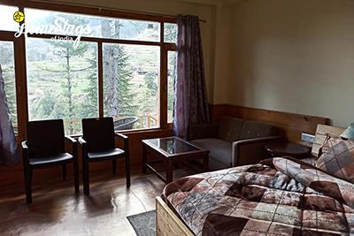 BedRoom-Seri Homestay-Jibhi