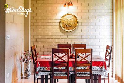 Dining_Banikhet Homestay-Dalhousie