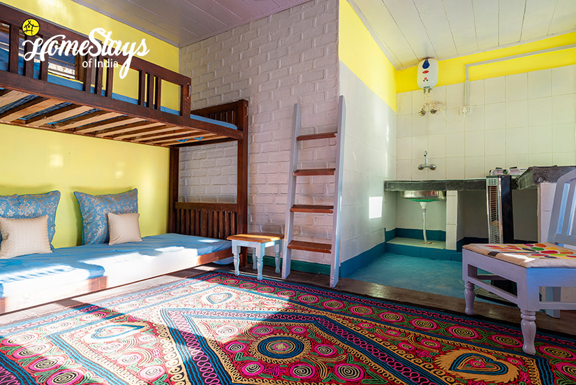 Bunk Bed-Kunr Village Homestay-Chamba