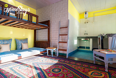 Bunk BedRoom-Kunr Village Homestay-Chamba