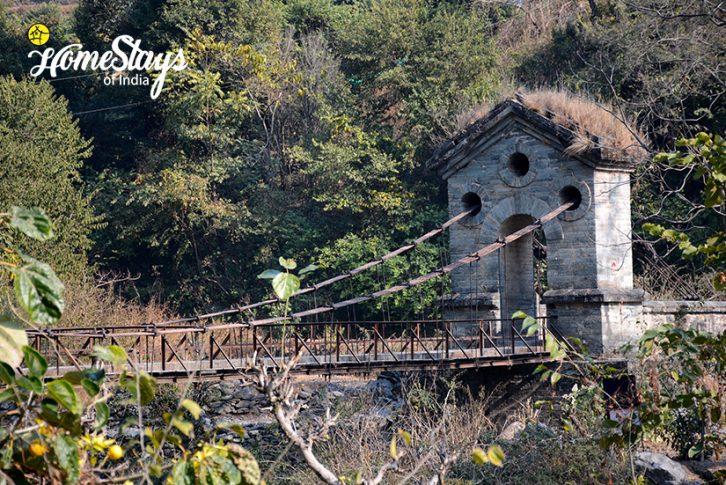 Bridge-Gaula River Homestay-Alchaunaa