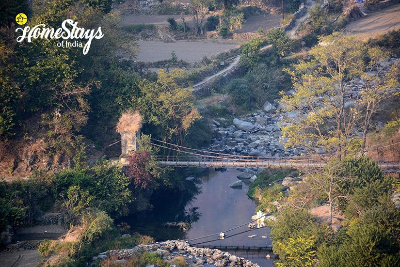 The Bridge-Gaula River Homestay-Alchaunaa