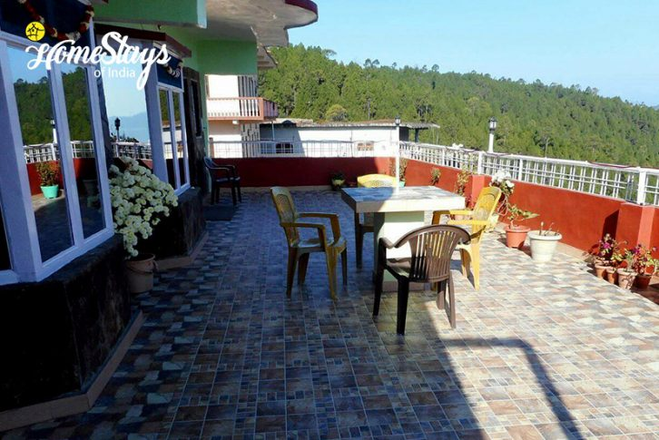 Terrace-Rautela Homestay-Ranikhet