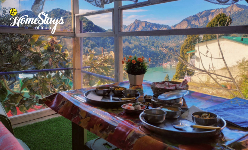 Breakfast-TalliTal Lakeside Homestay-Nainital