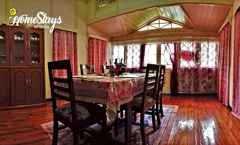Dinning_Laitumkhrah Homestay
