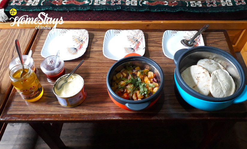 Lunch_Lachung-Homestay