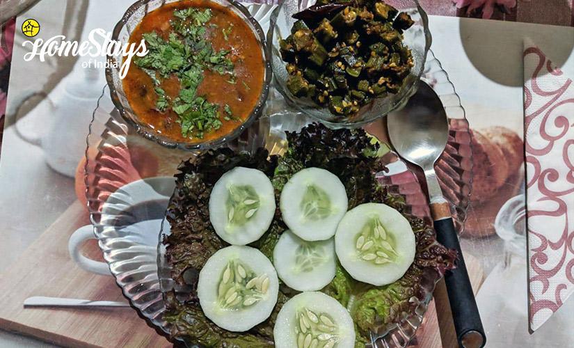 Lunch_Laitumkhrah Homestay