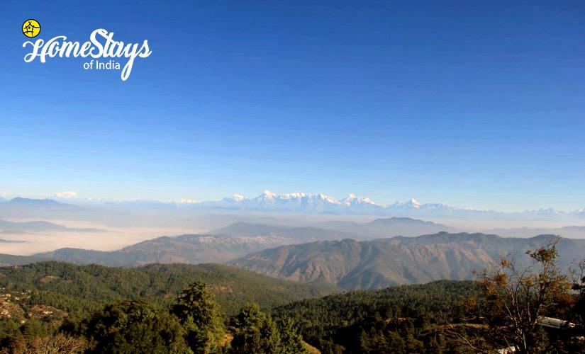 Mountain View-Mukteshwar Temple Homestay