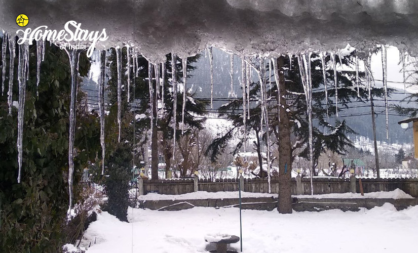 Winter-Laripora Homestay-Pahalgam