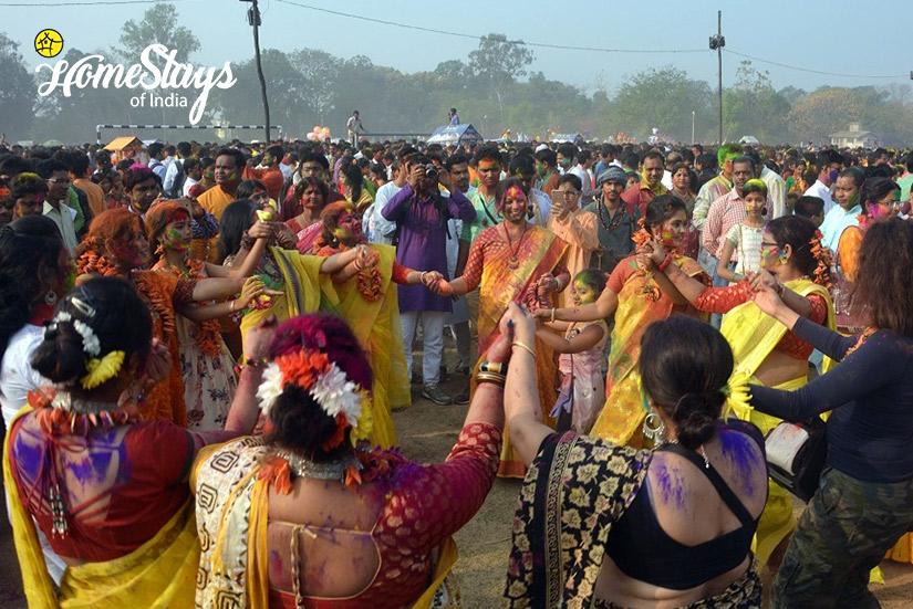 Basant utsav-2-Abanpolly Homestay-Shantiniketan
