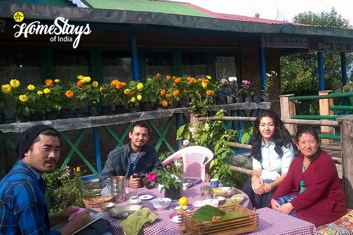 Breakfast-Lagay Village Homestay-Pelling