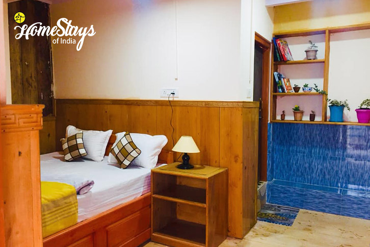 Double BedRoom-2-Lachung Boutique Homestay
