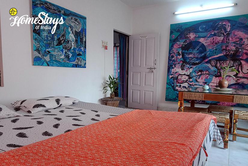 Double Room-3-Abanpolly Homestay-Shantiniketan