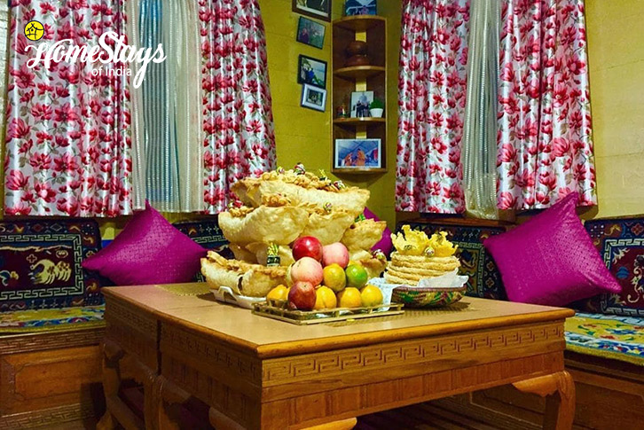 Drawing Room-Lachung Boutique Homestay