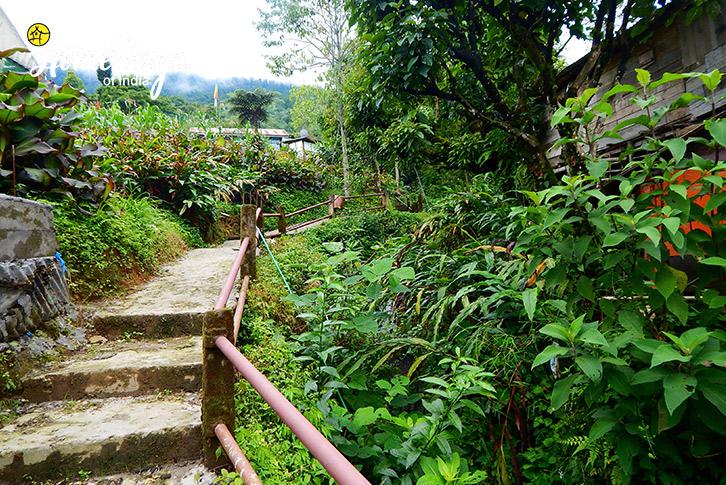 Entrance-Lagay Village Homestay-Pelling