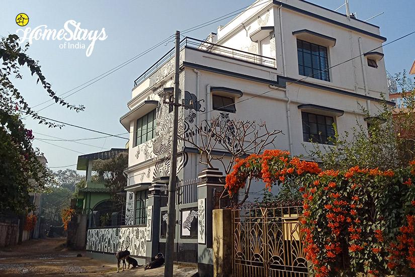 Exterior-Abanpolly Homestay-Shantiniketan