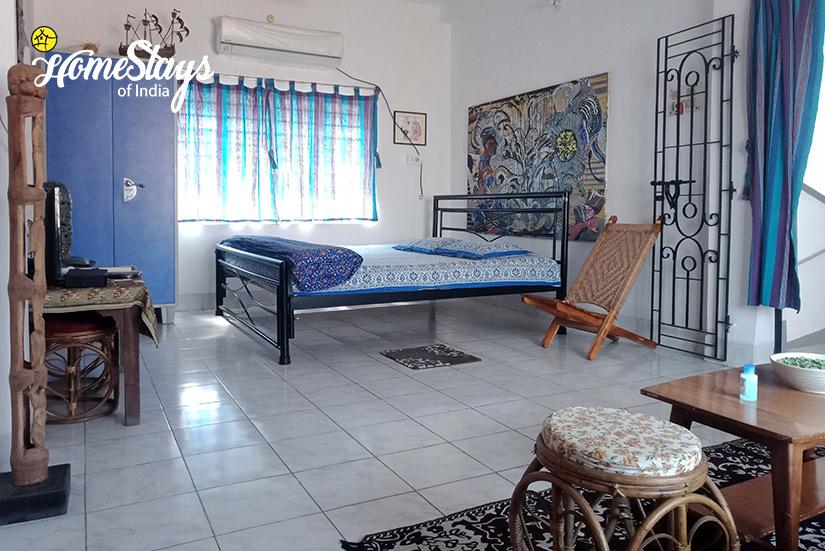 Family Suite-1-Abanpolly Homestay-Shantiniketan