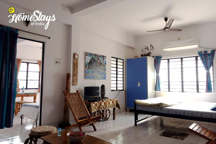 Family Suite-5-Abanpolly Homestay-Shantiniketan