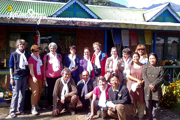 Happy Guest-2-Lagay Village Homestay-Pelling