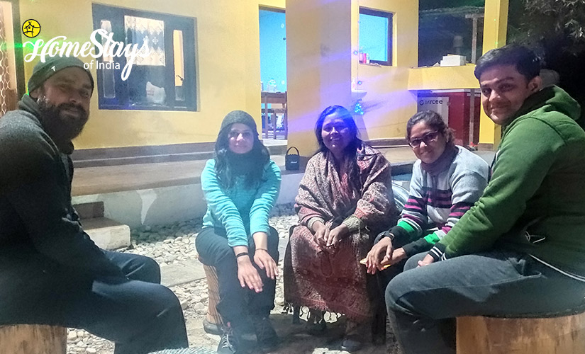 Happy-Guest-Udiyari Homestay-Chaukori