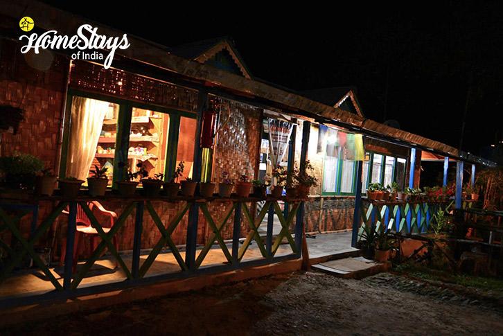 Night View-Lagay Village Homestay-Pelling