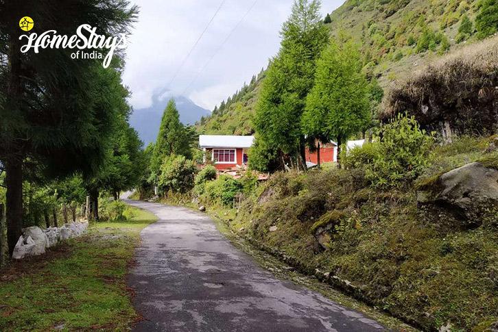 Road to Shingring Ten Homestay-Lachung