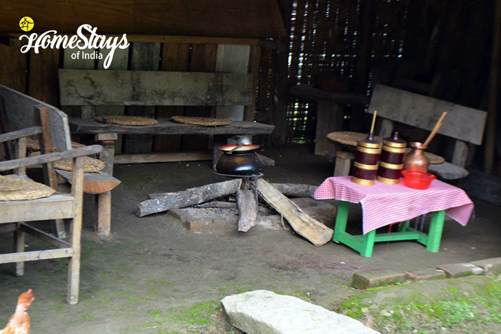 Traditional Cooking-Lagay Village Homestay-Pelling