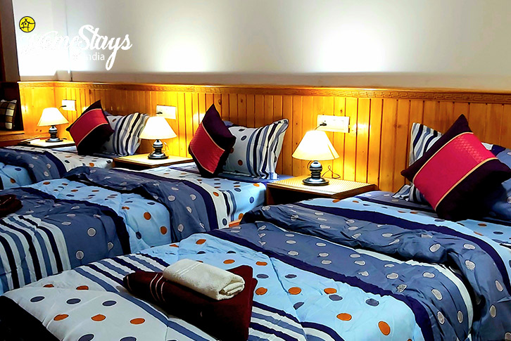 Triple Bedded Room-Lachung Boutique Homestay