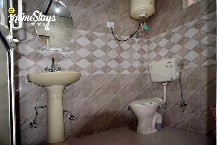 Washroom-Dal Lake Homestay-Naddi
