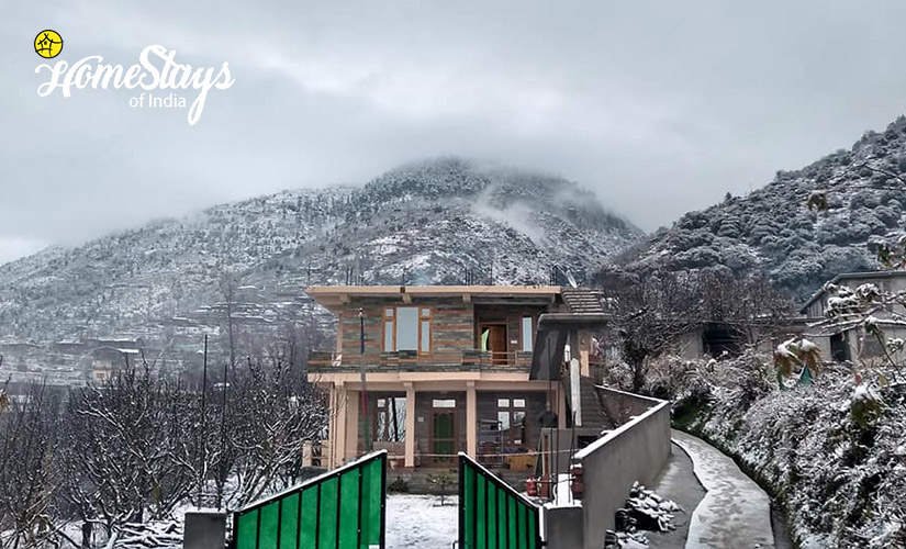 Winter-2_Kais Village Homestay-Kullu