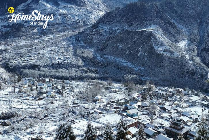 Winter-Shingring-Ten-Homestay-Lachung