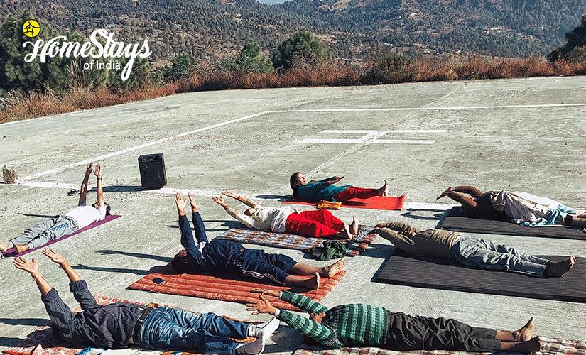 Yoga-Udiyari Homestay-Chaukori
