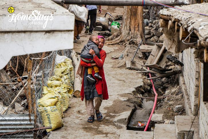 Balti Girl-Turtuk Homestay-Ladakh