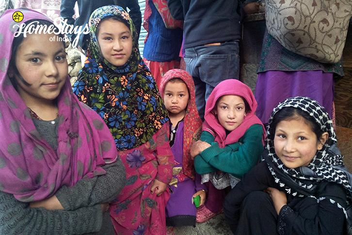 Balti Girls-Turtuk Homestay-Ladakh