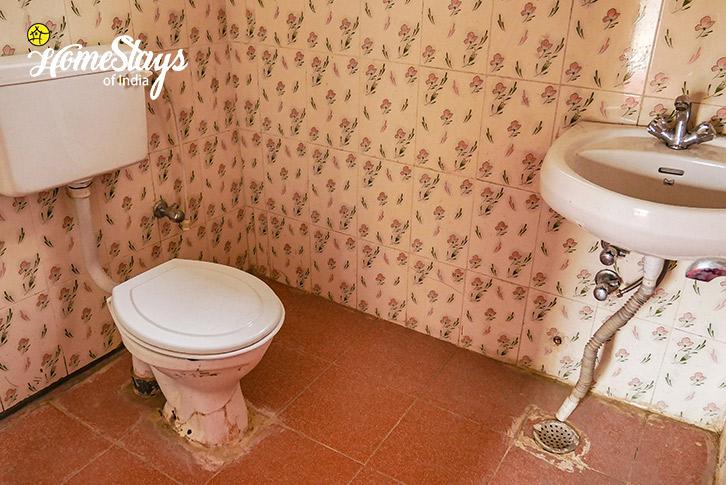 Bathroom-Sumur-Homestay-Nubra Valley-Ladakh