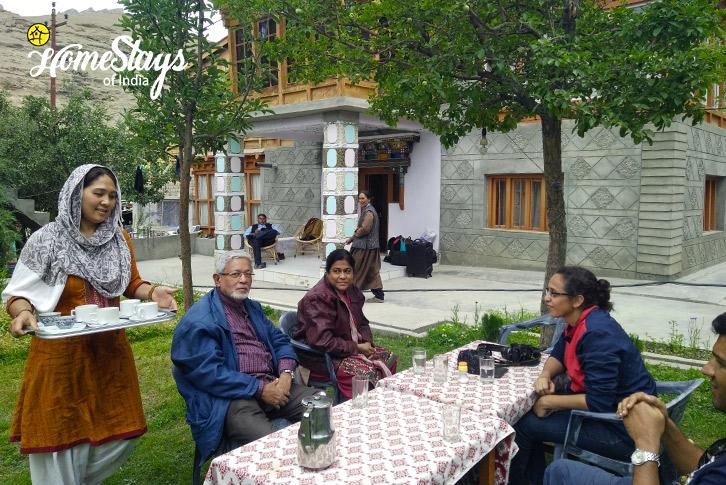 Breakfast_Mulbekh Homestay-Kargil